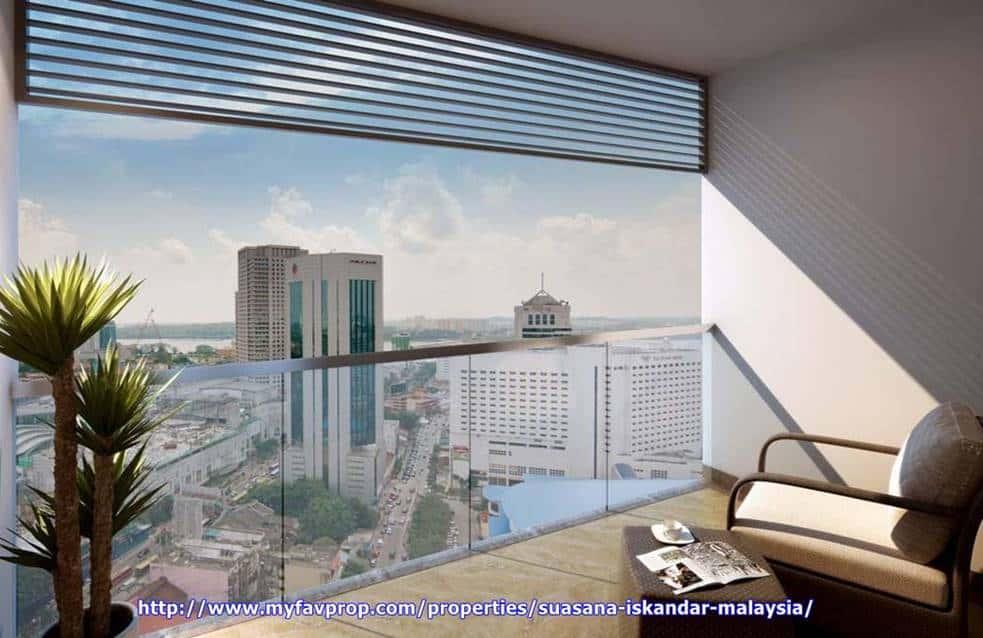 Suasana Iskandar Malaysia - Apt Balcony