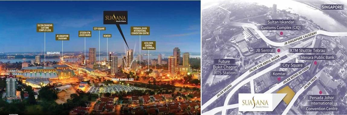Suasana Iskandar Malaysia - Location