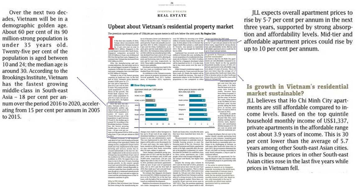 Vietnam Property Market - Upbeat