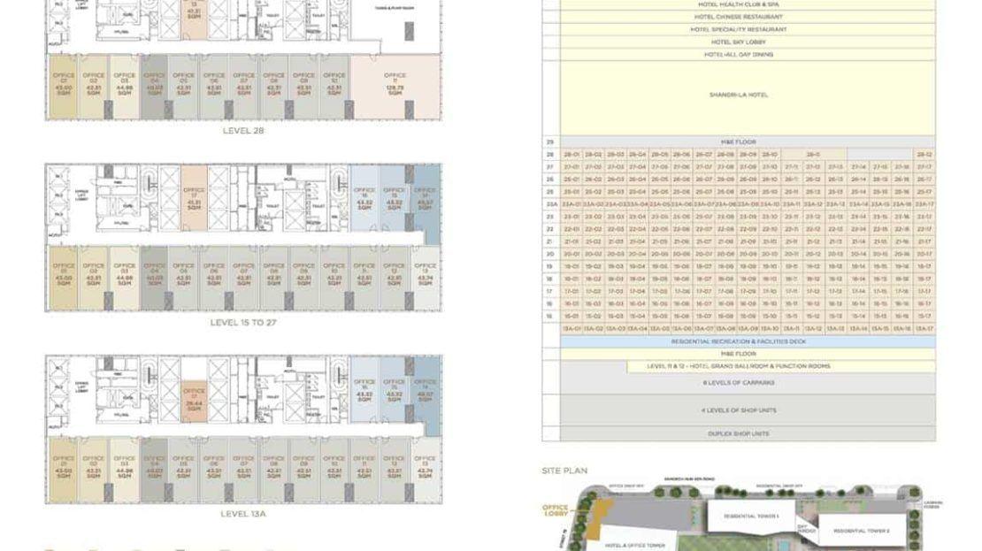 The Peak Office - Floor Plan