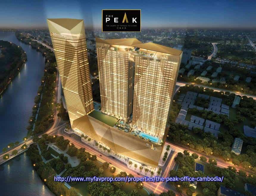 The Peak Office Cambodia - Aerial View