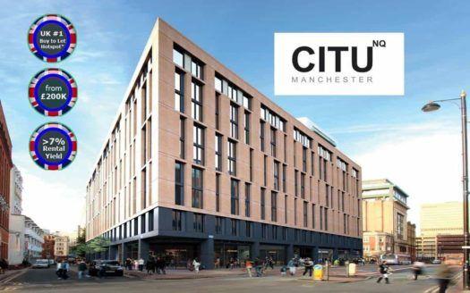 CityNQ Manchester - Facade