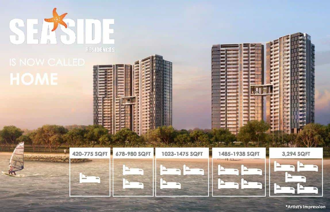 Seaside Residences - Facade