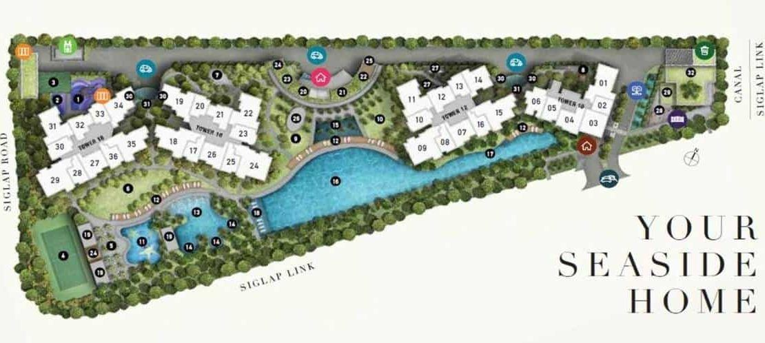 Seaside Residences - Site Plan