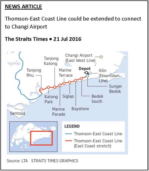 Seaside Residences - Thomson Line extension