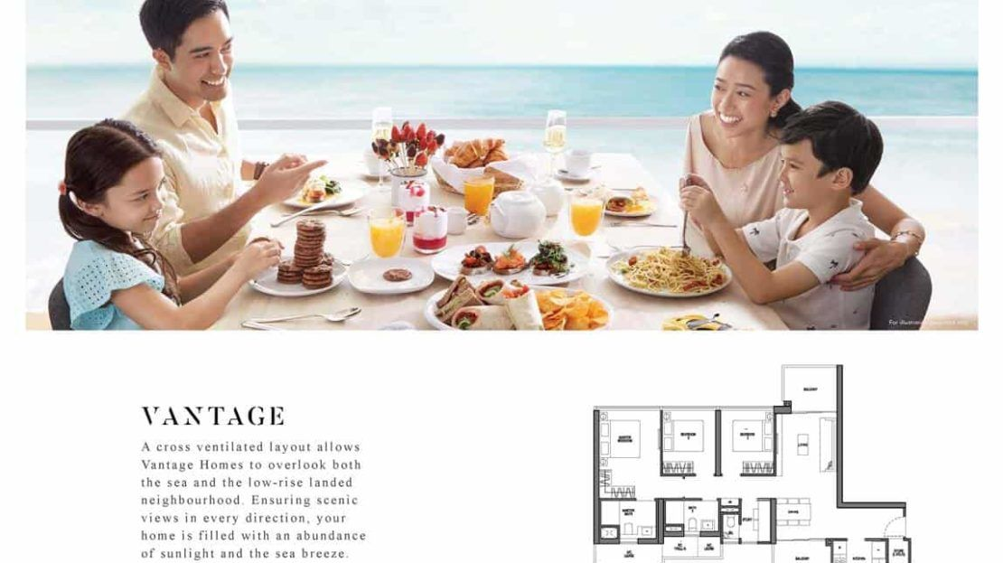 Seaside Residences - Vantage Floor Plan