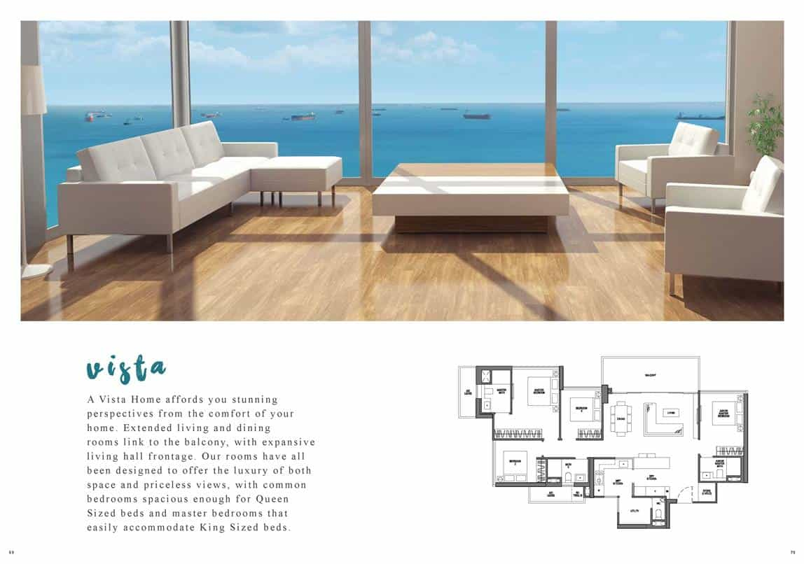 Seaside Residences - Vista Floor Plan