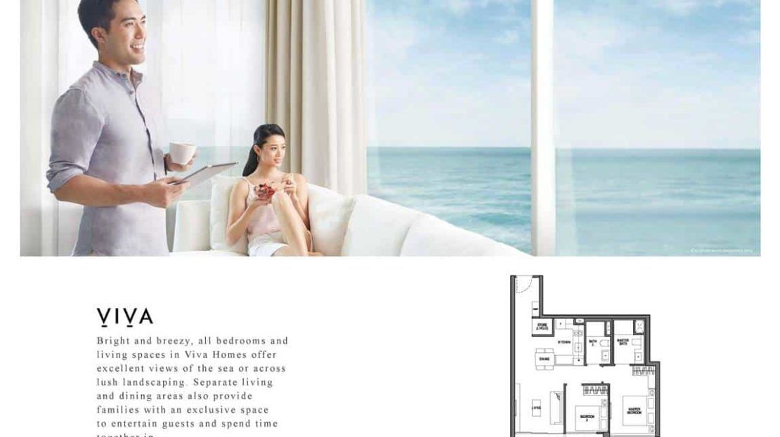 Seaside Residences - Viva Layout