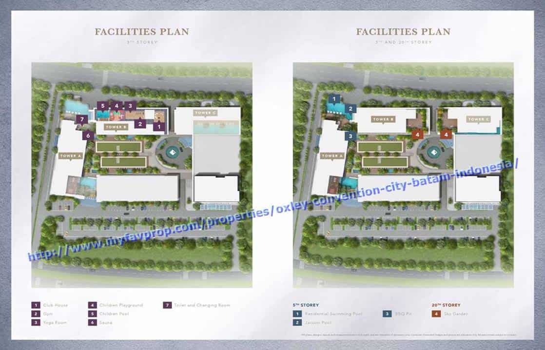 Oxley Convention City - Facilities Site Plan