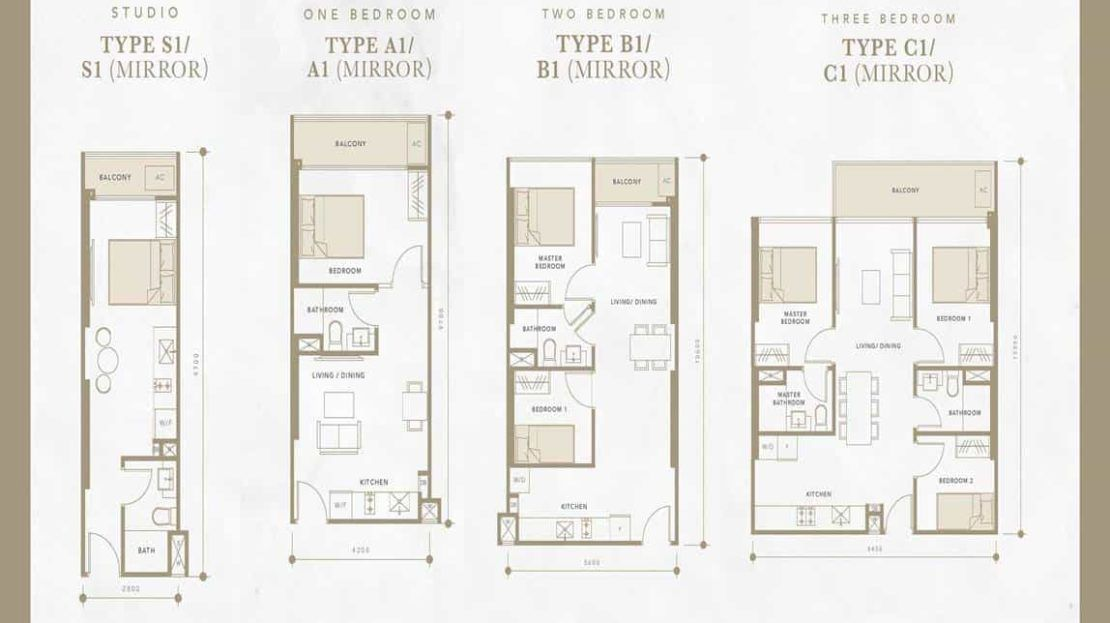 Oxley Residences - Typical Floor Plan