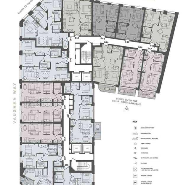Emery Wharf - Level 6 Floor Plan