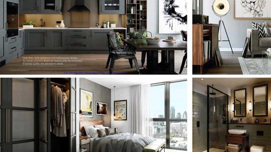 Emery Wharf Apartment