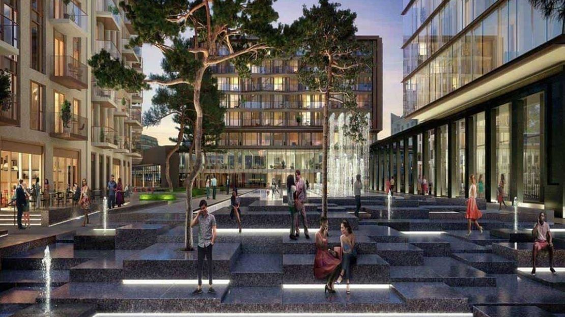 Emery Wharf - Gauging Square
