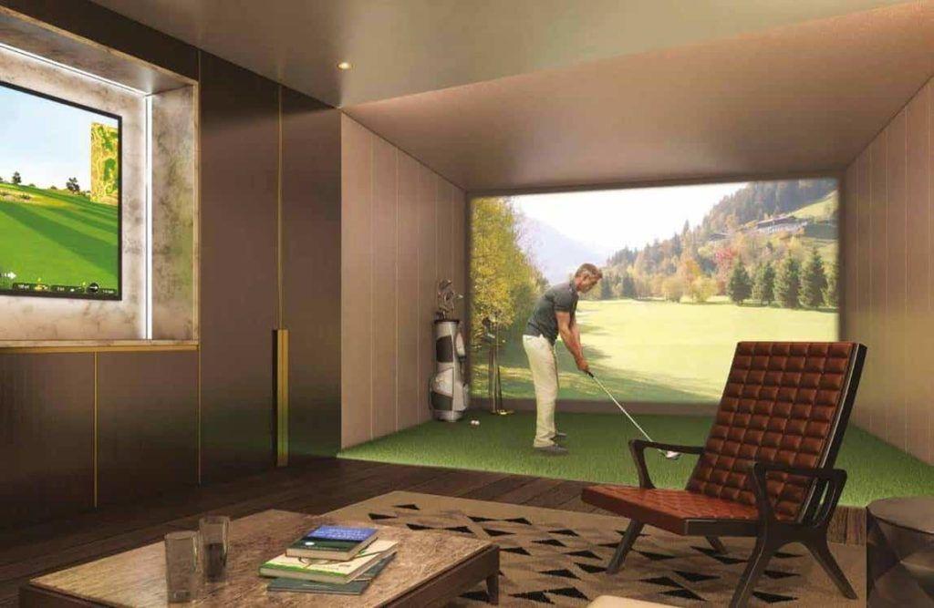Emery Wharf - Golf Simulation