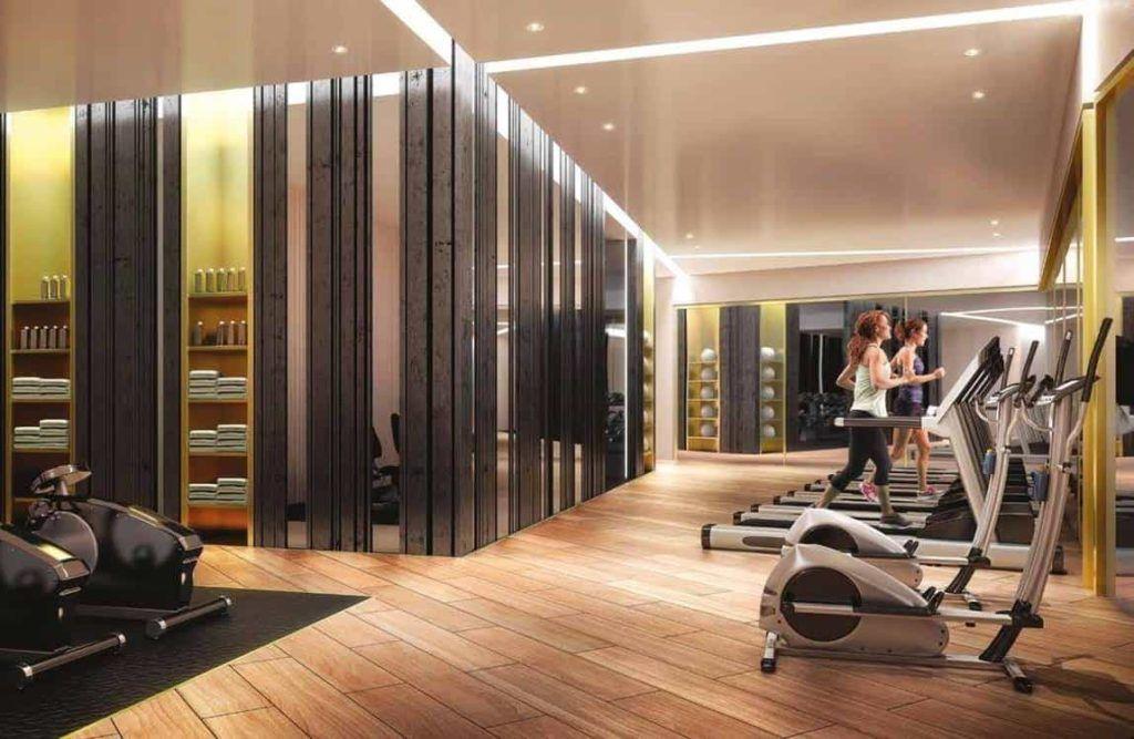 Emery Wharf - Gym Room