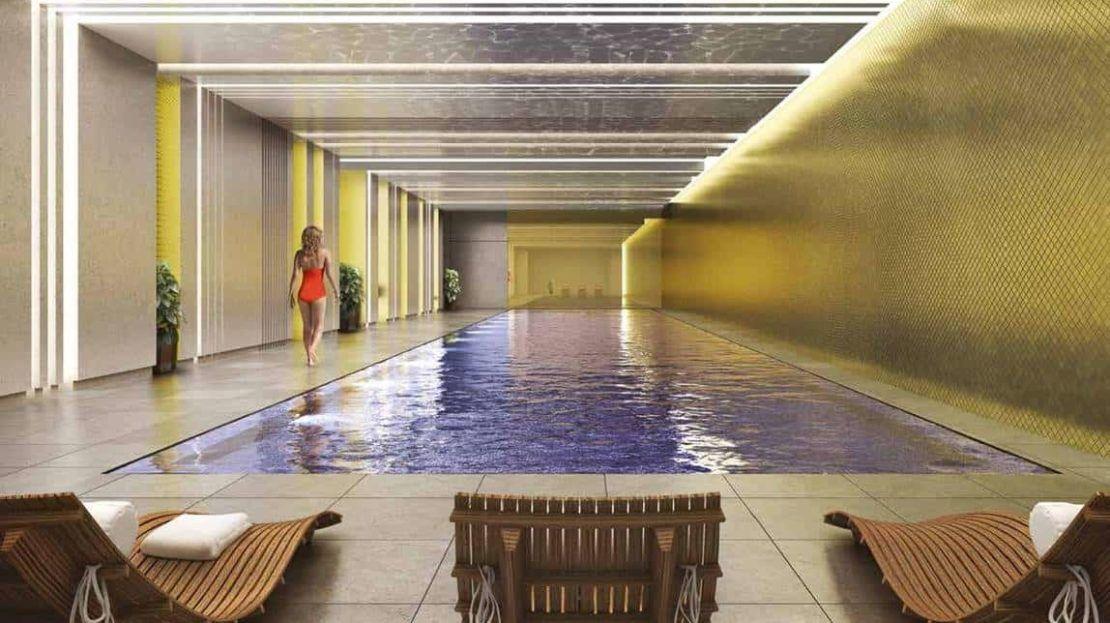 Emery Wharf - swimming pool