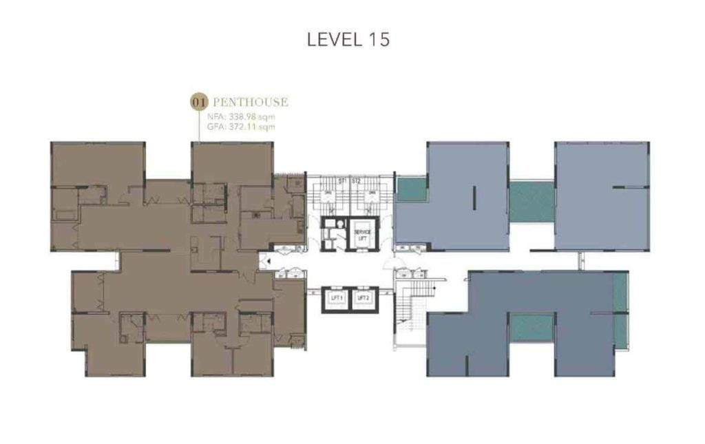 D1mension HCMC - Level 15 Floor Plate
