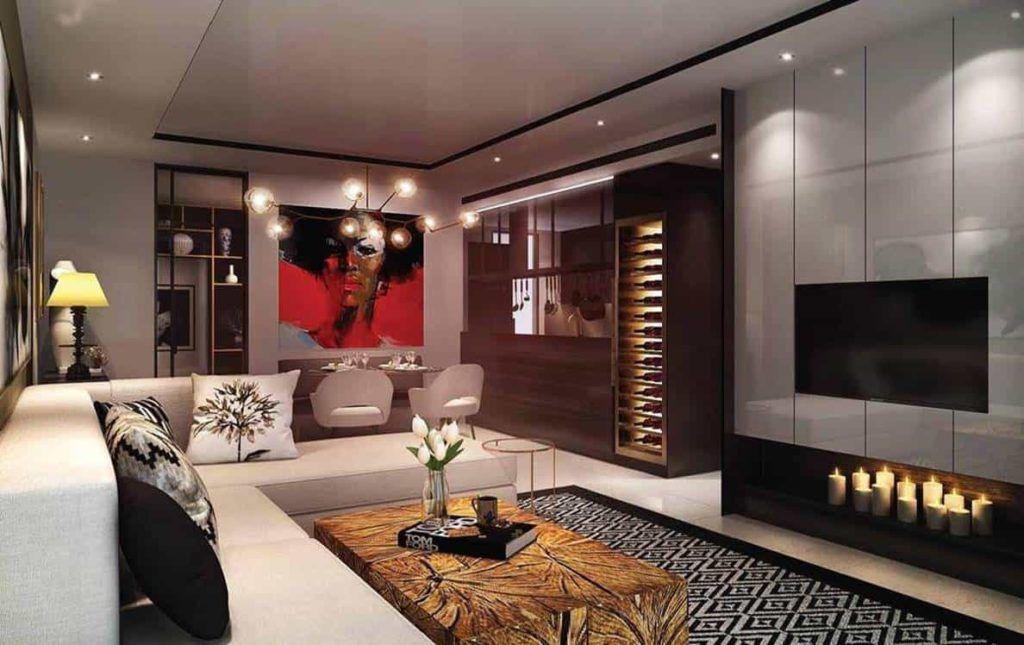 D1mension HCMC - Living Room