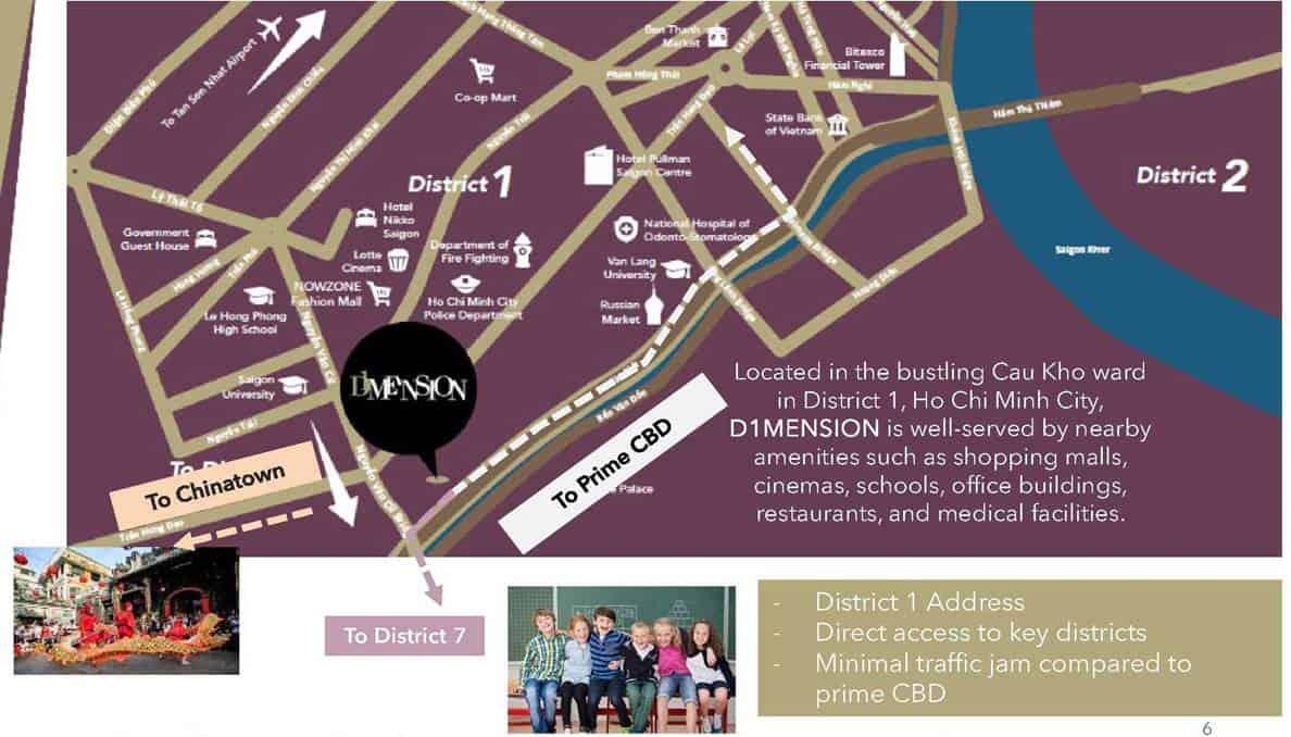 Burlington Square Manchester - location map