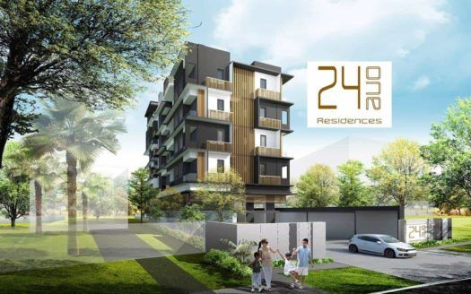 24 One Residences - Entrance Facade