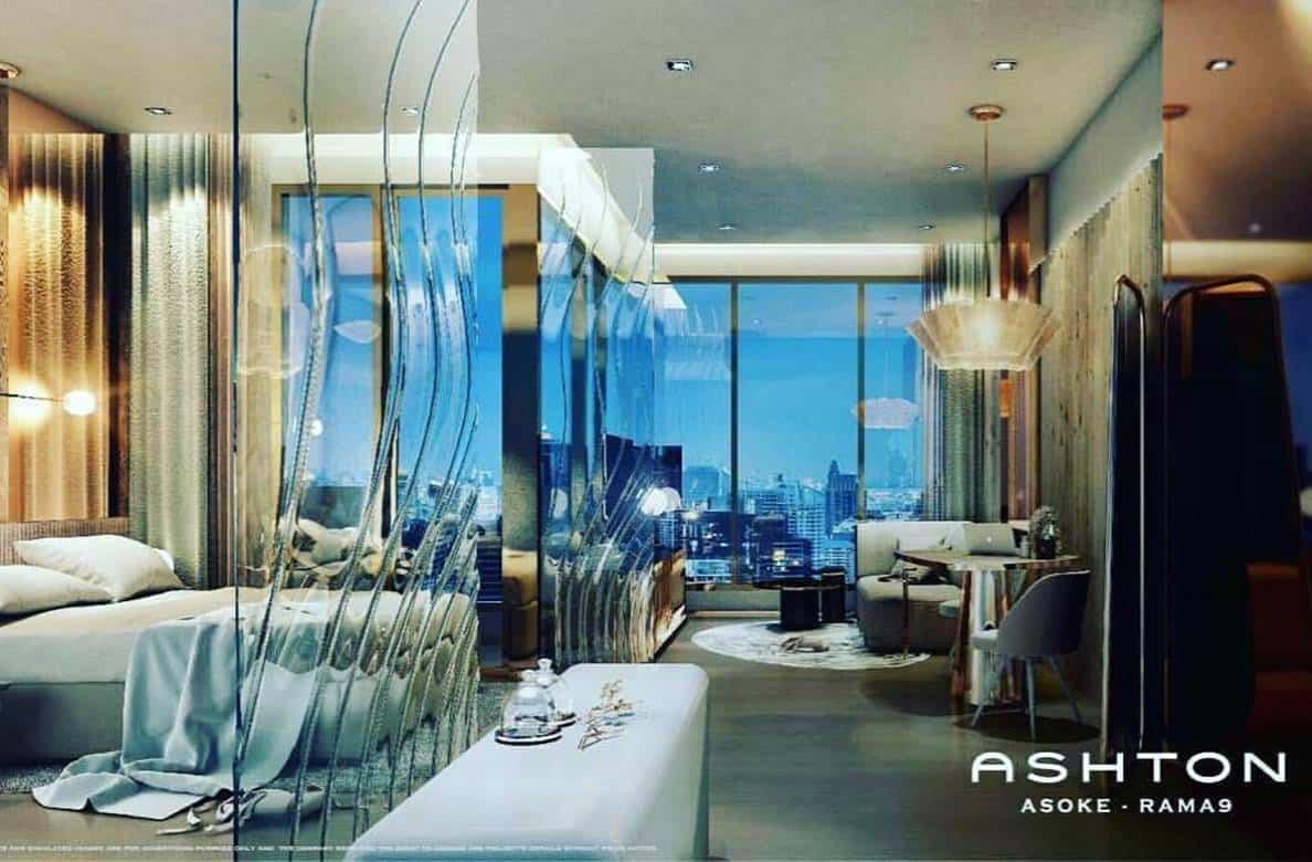 Ashton Asoke Rama 9 - 1 BR Interior