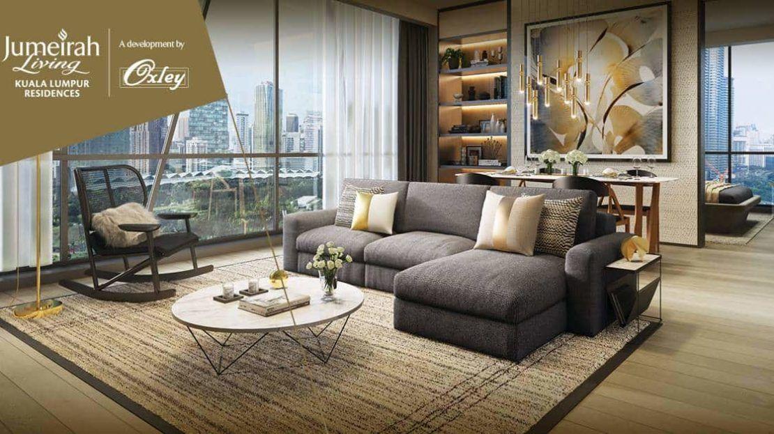Oxley Towers KLCC - Jumeriah Living Residences Living room 2