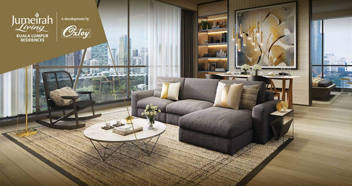 Oxley Towers KLCC - Jumeriah Living Residences Living room