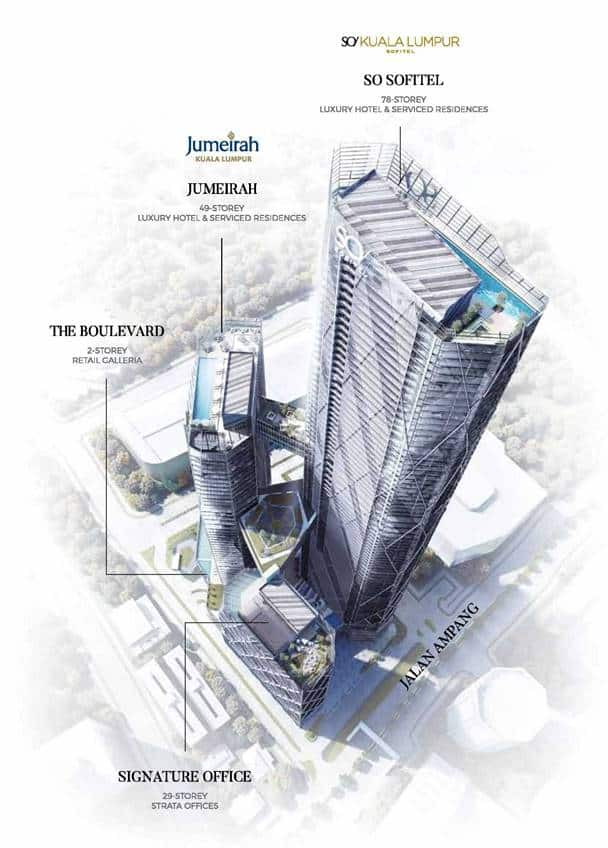 Oxley Towers KLCC - Structural Architect