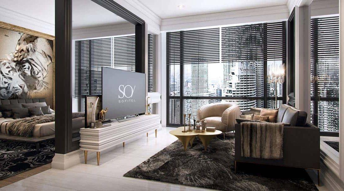 Oxley Towers KLCC - SO Sofitel Hotel Residences Bedroom 2