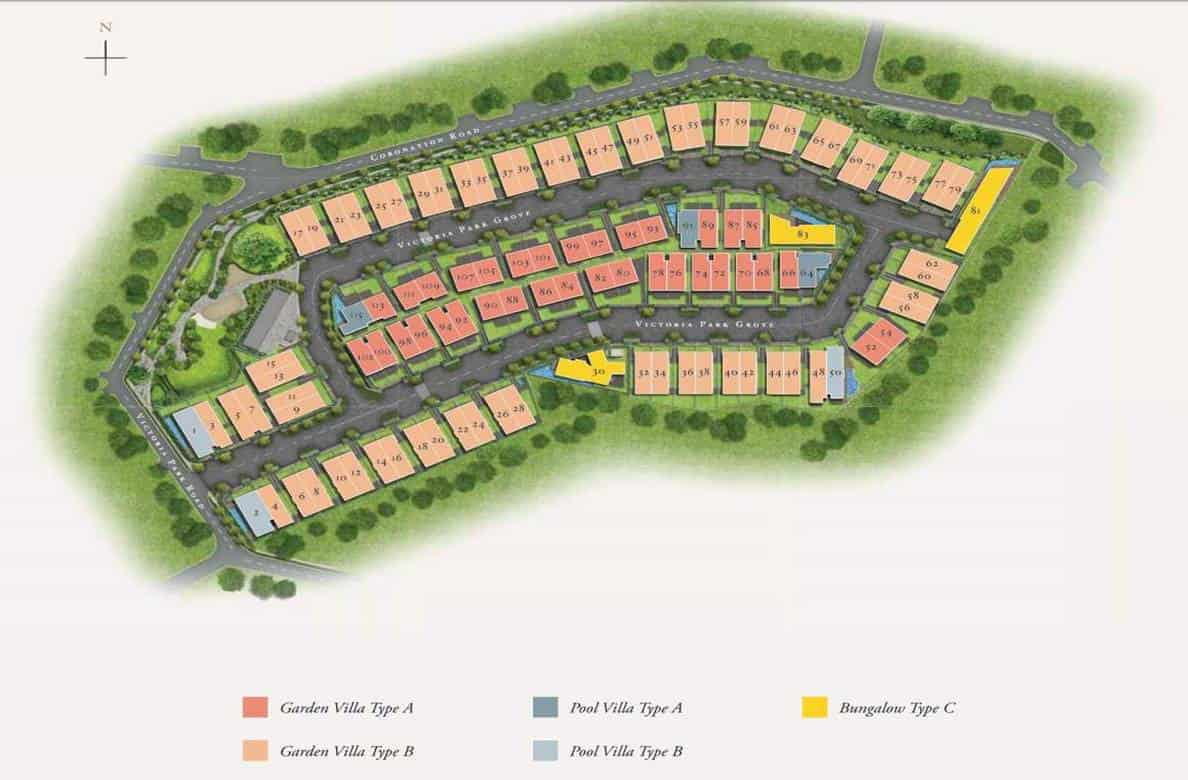 Victoria Park Villas - Development Site Plan