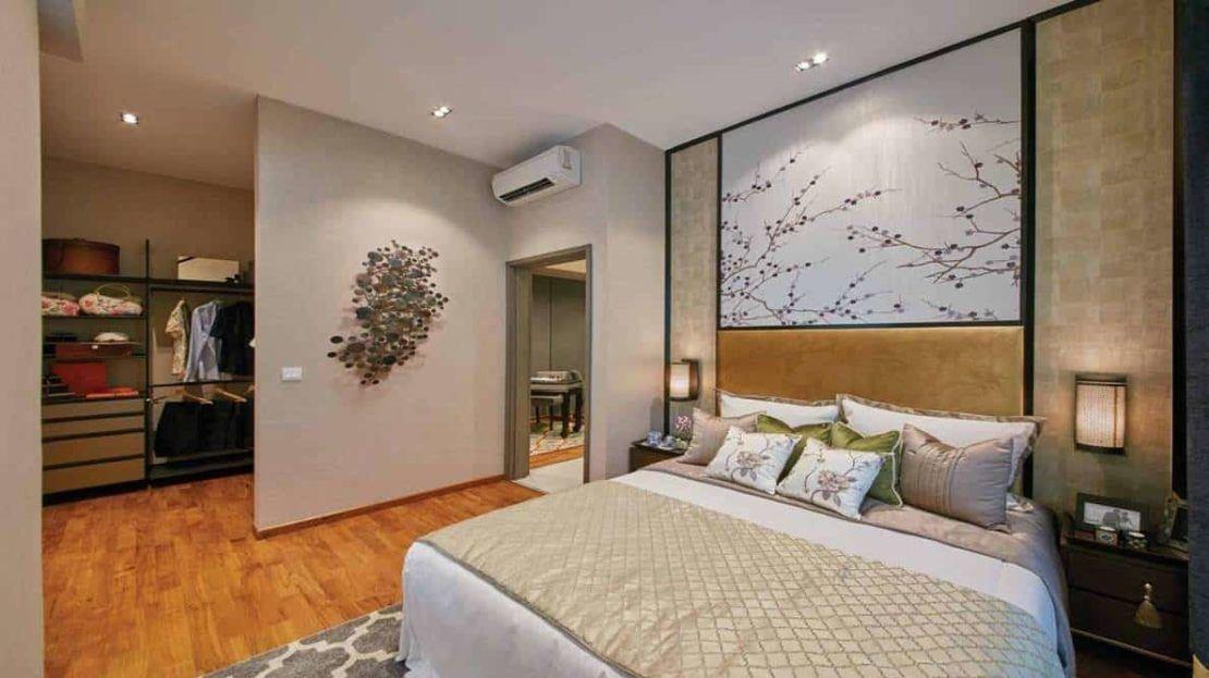 Carpmael Thirty-eight - master bedroom