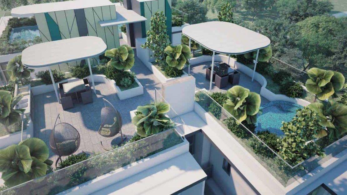 Carpmael Thirty-eight - Roof Facilities