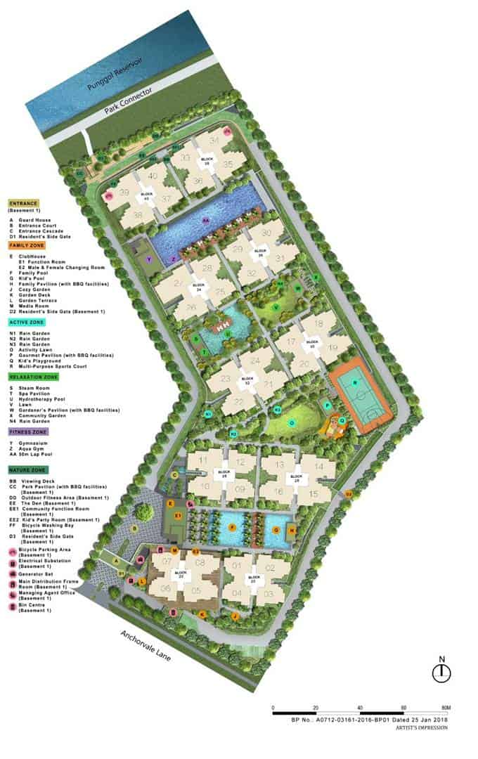 Rivercove Residneces - Site Plan