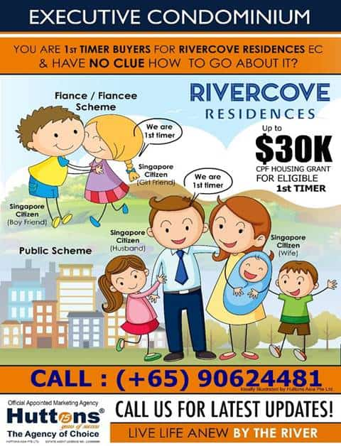 Rivercove Residences - Call to action