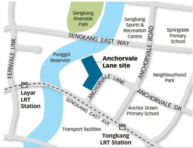 Rivercove Residences - Location