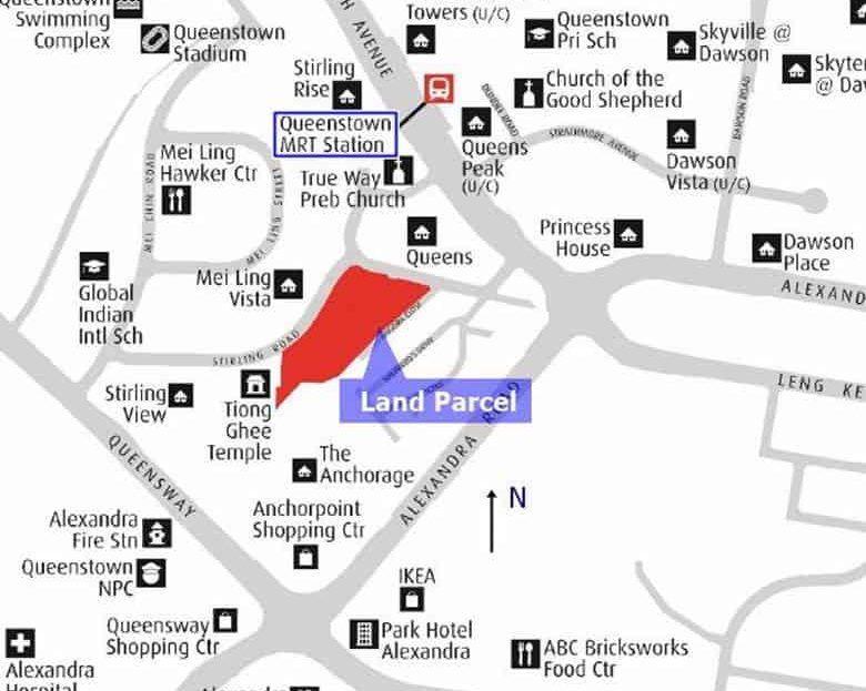 Stirling Road Condo Location Map