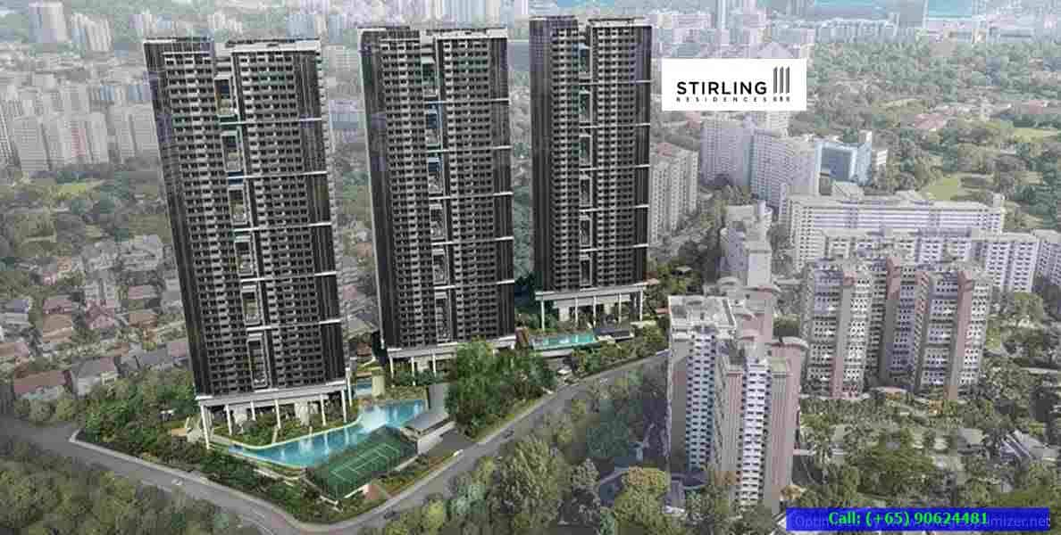 Stirling Residences Actual Site