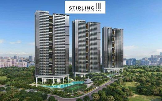 Stirling Residences - Aerial View