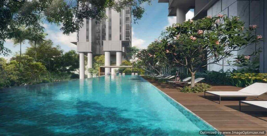 Stirling Residences - Lap Pool