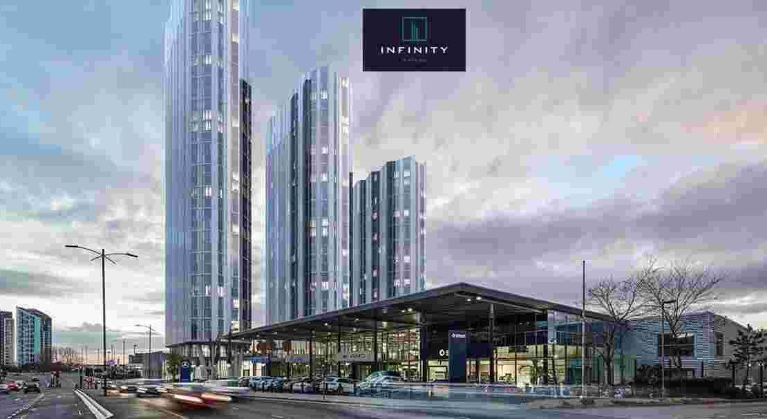Infinity Waters Liverpool_ Facade