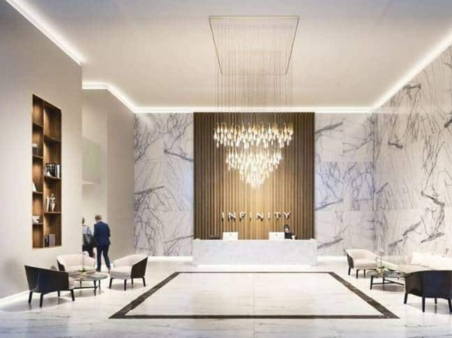 Infinity Waters Liverpool - Concierge Lobby