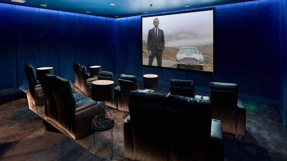 Cashmere Wharf - Cinema Room