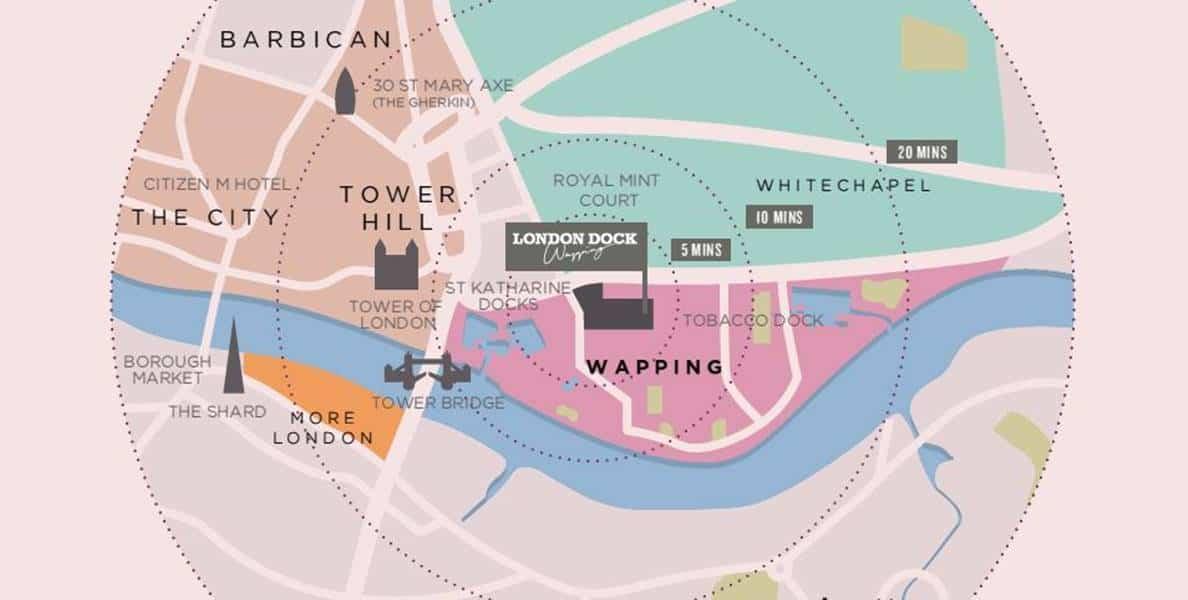 Cashmere Wharf Location Attraction