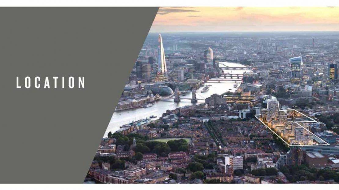 Cashmere Wharf - London Aerial View 2