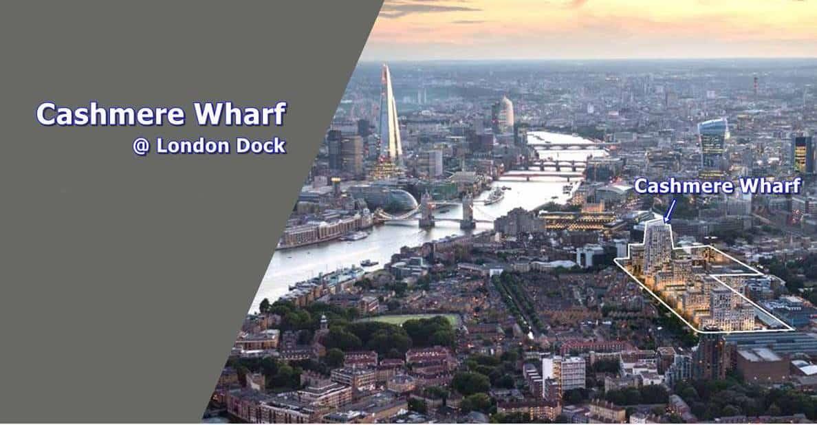 Cashmere Wharf - London Aerial View 3