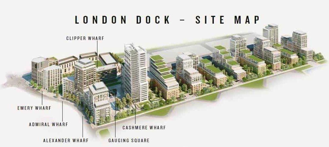 Cashmere Wharf - Site Map