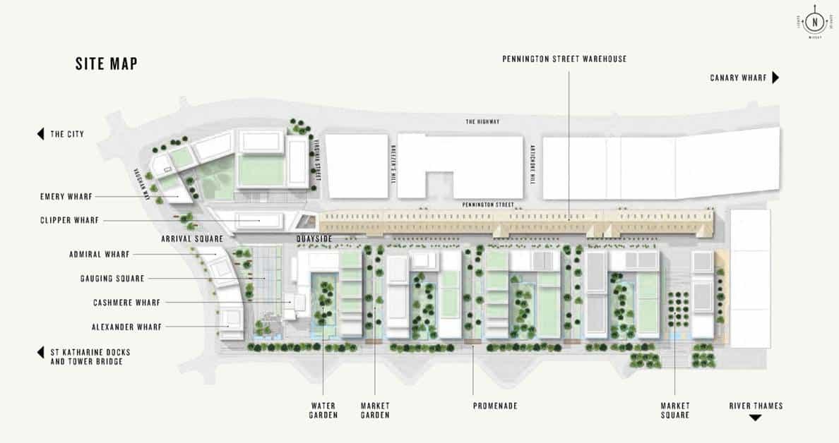 Cashmere Wharf - Site Plan