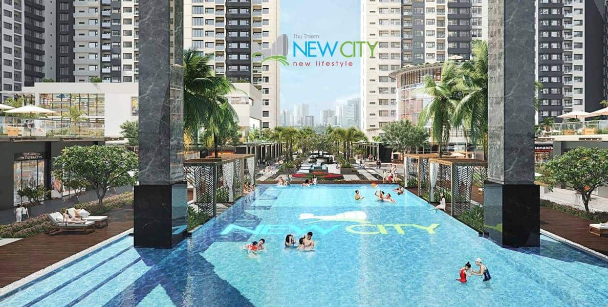 New City Thu Thiem - swimming pool