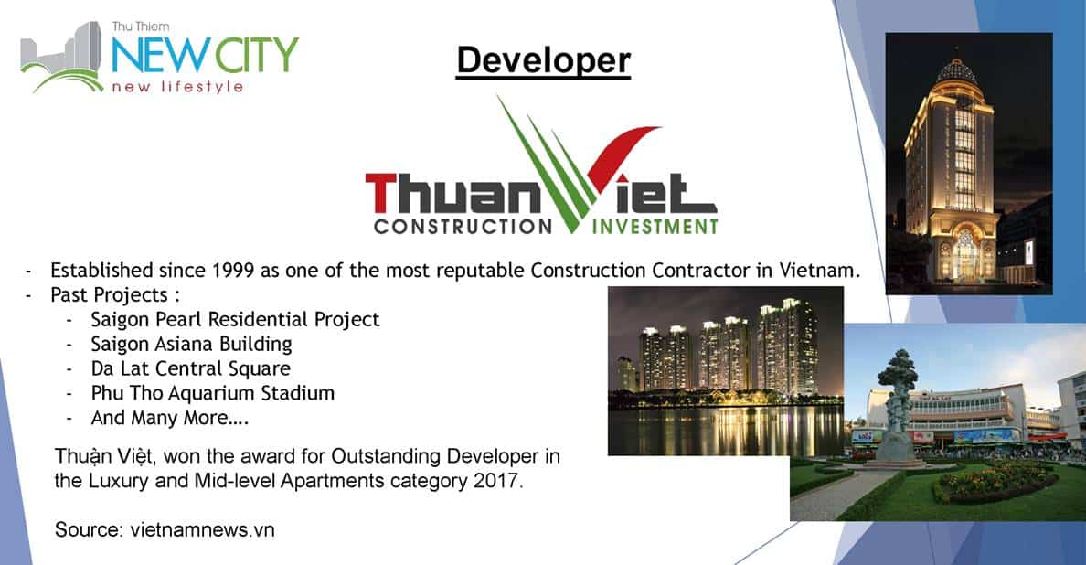 New City Thu Thiem - Developer profile