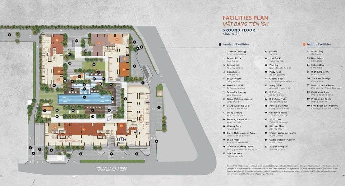De La Sol - Facilities Plan